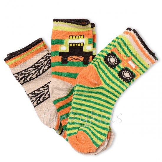 Чорапки 3 бр. - камион