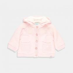 Топла розова жилетка Boboli
