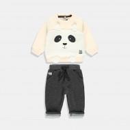 Boboli комплект  Панда за момче