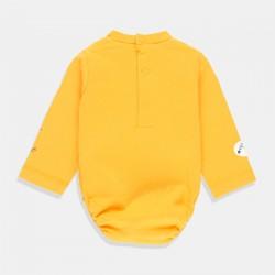 Боди Boboli с дълъг ръкав в цвят горчица
