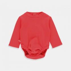 Боди Boboli с дълъг ръкав в цвят рубин