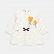 Boboli Рокля в бяло с цветя