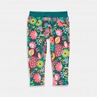 Boboli панталон за момиче с флорален десен