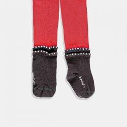 Червен чорапогащник Boboli