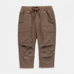 Панталон Boboli за момче в маслено зелено