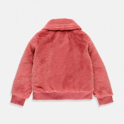 Boboli пухкаво яке за момиче в розово-лилаво