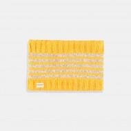 Boboli Топъл зимен шал в цвят горчица
