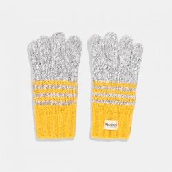 Топли зимни ръкавици Boboli в цвят горчица