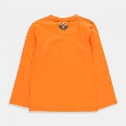 Блуза Boboli в оранжево за момче