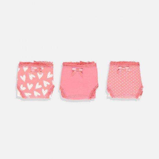 Сет от три броя бикини Boboli в розово Био Органик