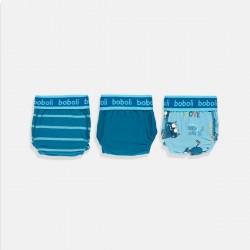 Сет Boboli от три чифта слипове в наситено синя гама