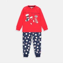 Пижама Boboli в червено и синьо