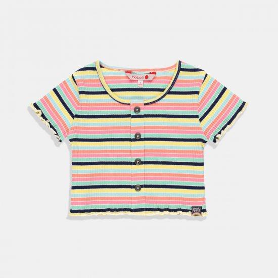 Разноцветна детска блуза за момиче