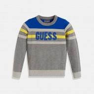 Трицветна блуза GUESS за момче