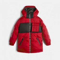 Червено - черно яке GUESS за момче