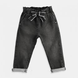 iDO черни дънки с панделка