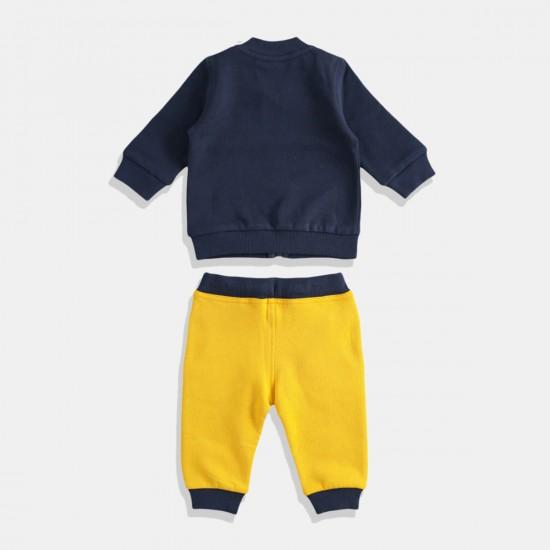 iDO комплект за момче в жълто и синьо