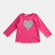 iDO блуза розово Сърце