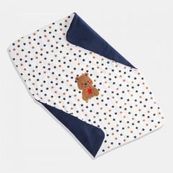 iDO одеяло мече в бяло и синьо