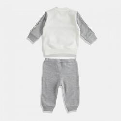 iDO комплект за момче в сиво и крем