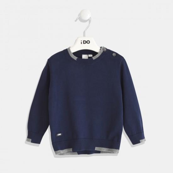 iDO блуза за момче в синьо