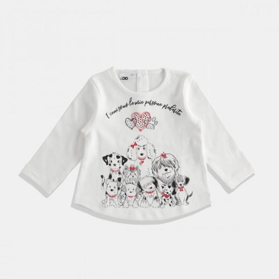 iDO блуза с животни