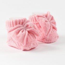 Розови терлички iDO с панделка