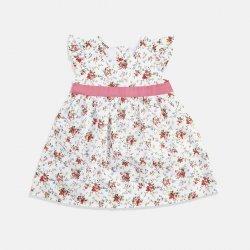 Лятна рокля с цветен принт