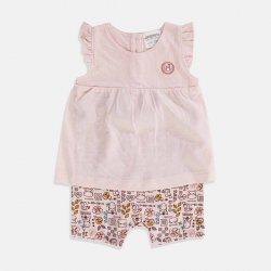 Бебешки гащеризон в розово