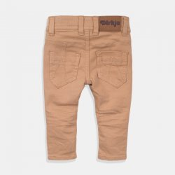 Детски дълги дънки за момче Dirkje в  пясъчен цвят