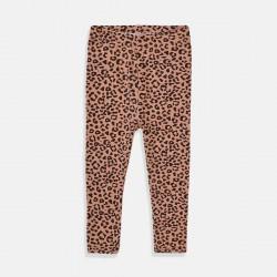 Minoti клин в леопардова шарка в кафяво за бебе момиче