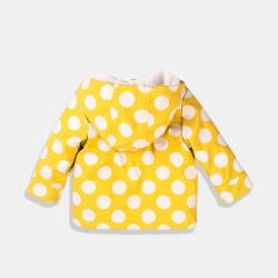 Minoti водоустойчиво и противовятърно яке в жълто