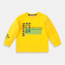 Minoti блуза в жълто за момче