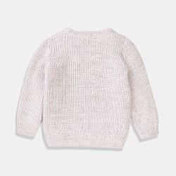 Стилен пуловер Minoti в цвят мрамор