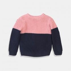 Пуловер Minoti в розово и синьо