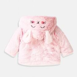 Minoti плюшена жилетка в розово