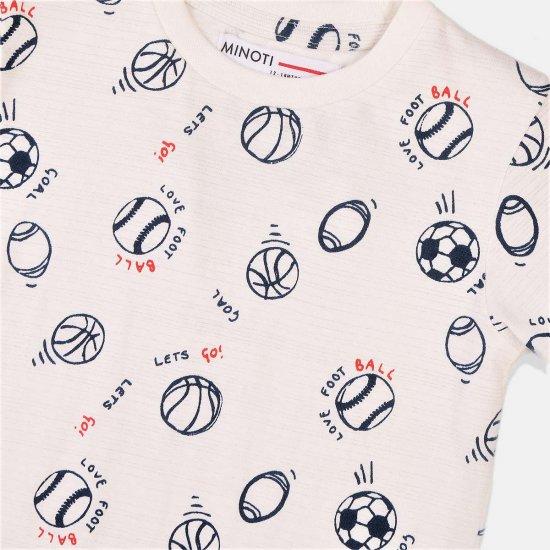 Тениска с къс ръкав за малки спортисти