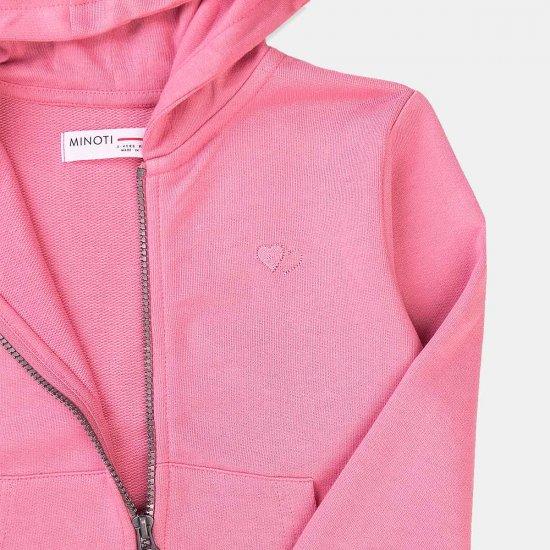 Спортно розово горнище за момиче Minoti