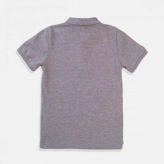 Разноцветна тениска за момче с яка Minoti