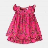 Бебешка розова рокля с бикини Minoti