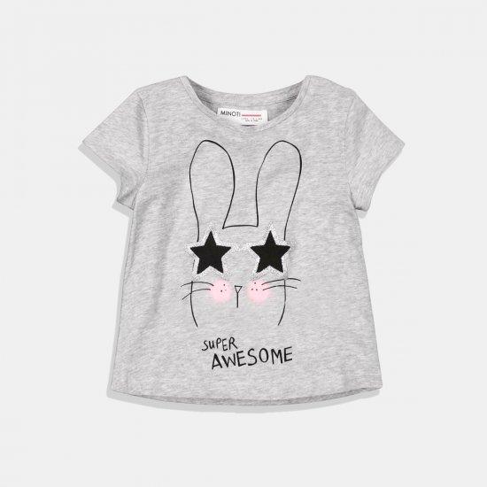 Тениска момиче Bunny Star