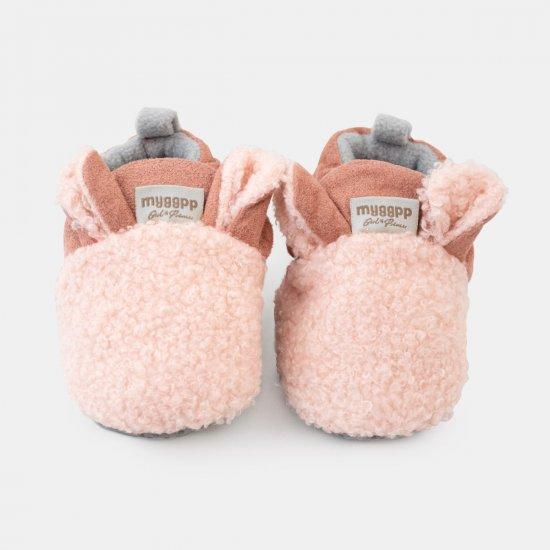 "Розови пантофки ""Агънце"" с ушички"