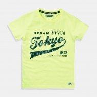 """Неоново жълта тениска """"Tokyo"""""""