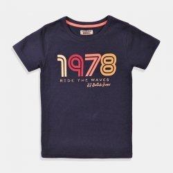 Синя тениска с къс ръкав 1978