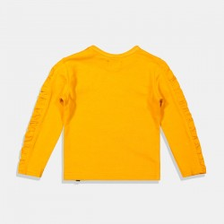 Жълта блуза Dirkje за момиче