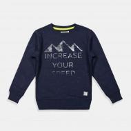 DJ Dutchjeans блуза в тъмно синьо Планини