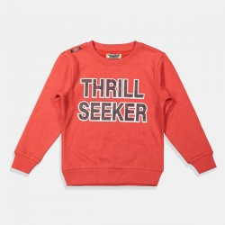 DJ Dutchjeans блуза в червено Thrill Seeker