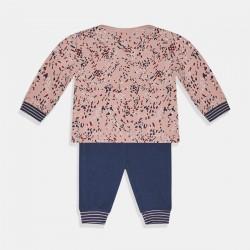 Комплект Charlie Choe за момиче в цвят индиго и розово