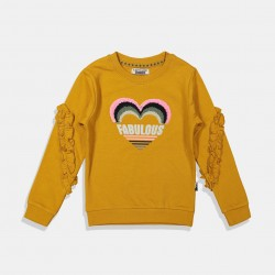 DJ Dutchjeans блуза в цвят Камел
