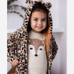 Леопардово яке Dirkje за момиче